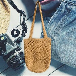 Simply style woven bag